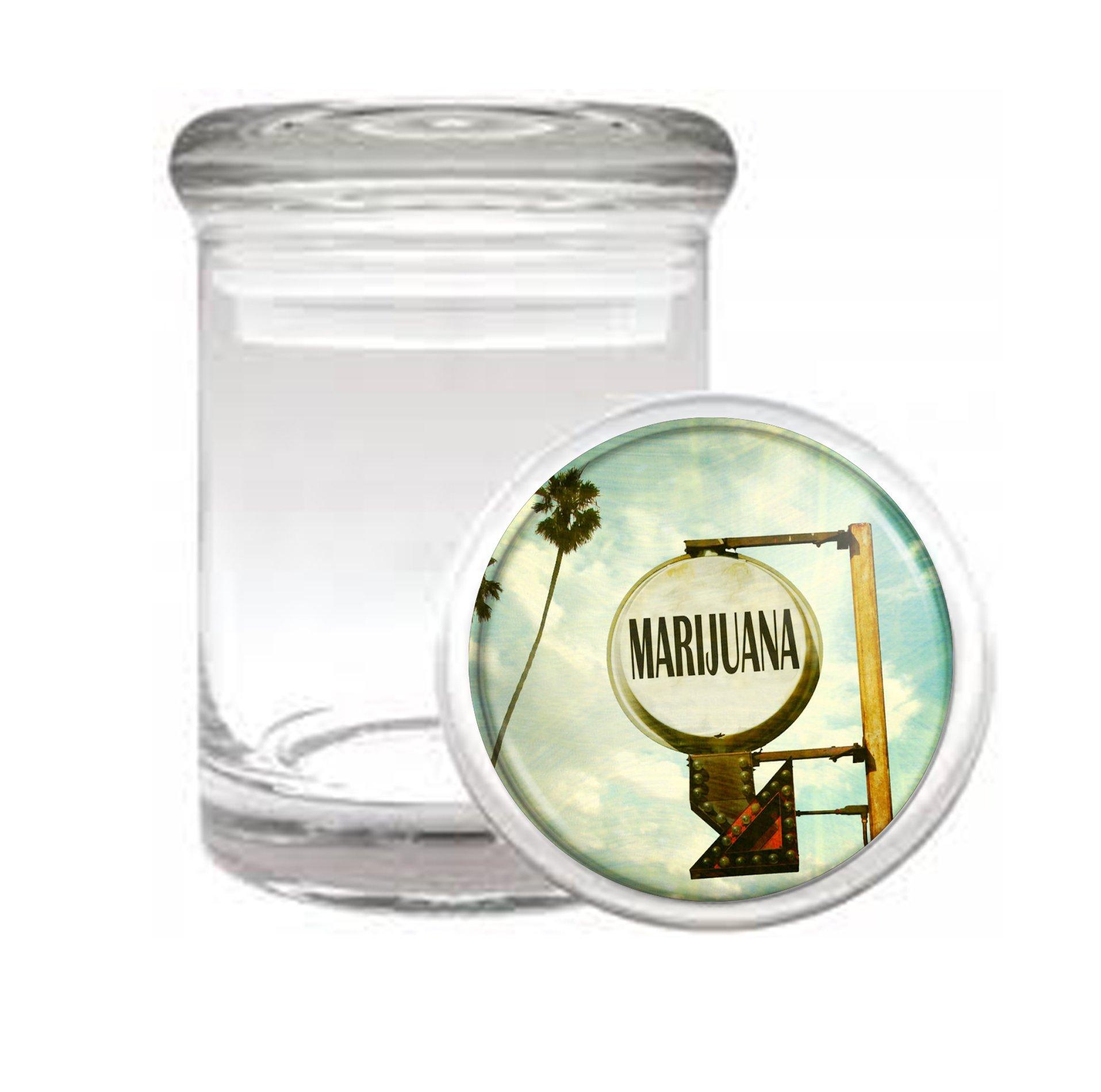 Mari Hotel Medical Odorless Glass Jar