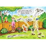 Garden Pest Control Funny Humourous Birthday Card The Side Of Life