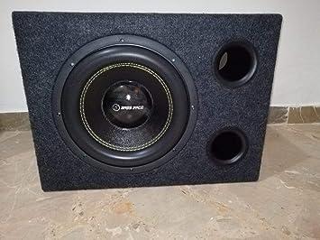 Caja Reflex + Subwoofer Bass Face 30 cm SPL12.2 1250 W RMS ...