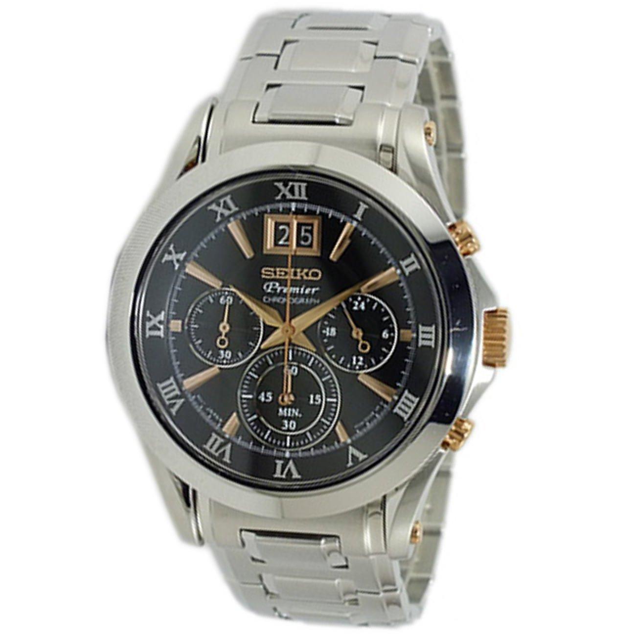 [セイコー] SEIKO 腕時計 クロノグラフ プレミア SPC064P1 メンズ [並行輸入品] B00ARR2IAG