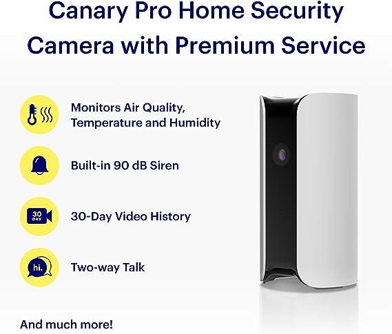 Canary All In One Sicherheitssystem Mit Hd Kamera Kamera