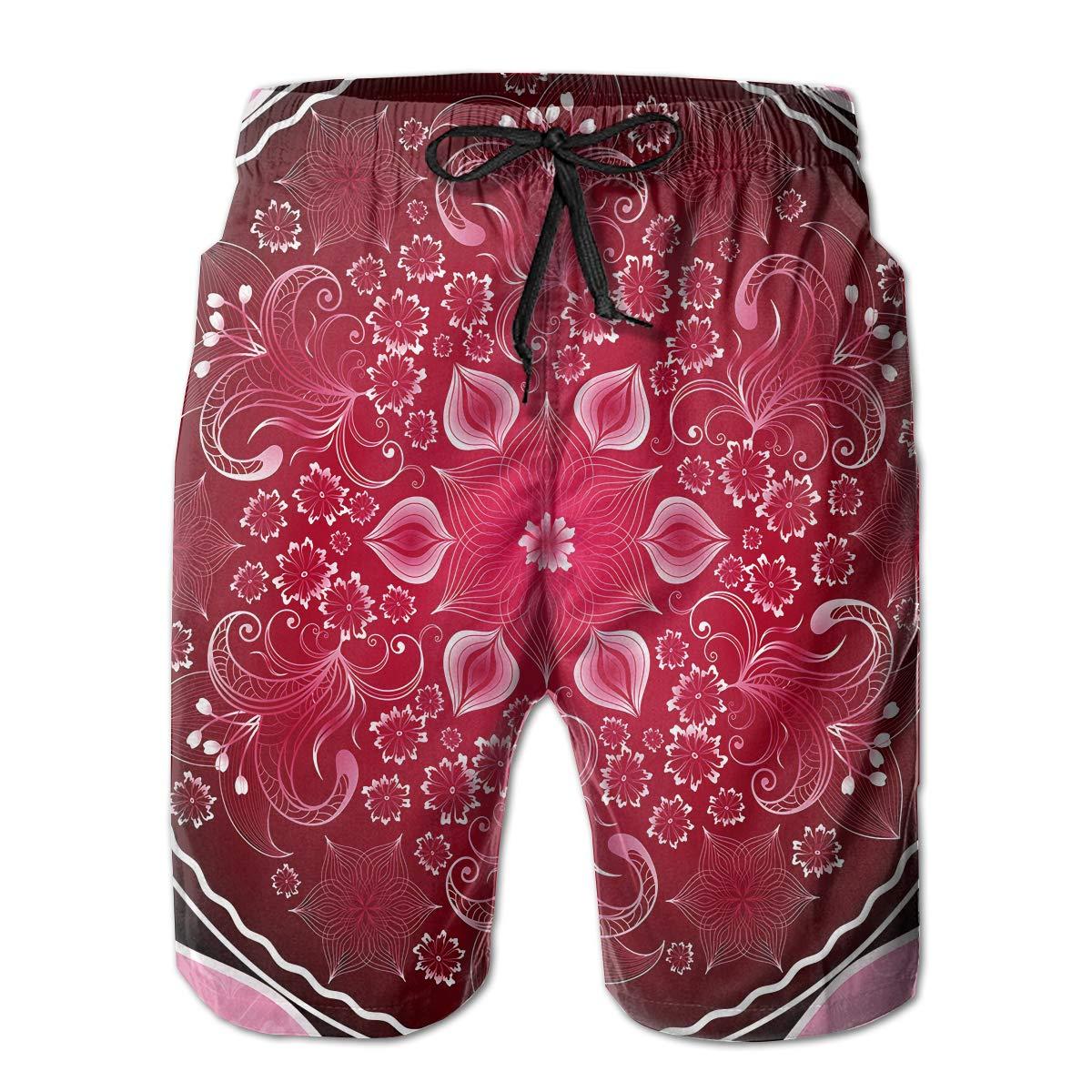 Mens Soft Hawaii Surfing Traveler Classic Beach Shorts Swim Trunks Board Shorts