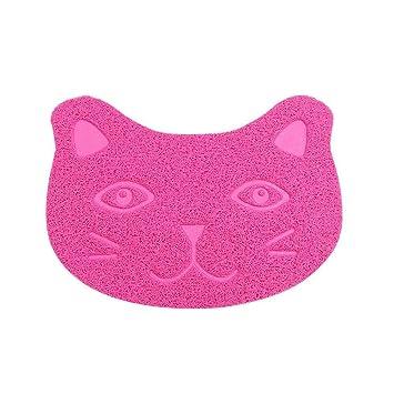 Weiwei Cama de Perro PVC Alfombra pie Gato Gatos Perro Mat Mat: Amazon.es: Productos para mascotas