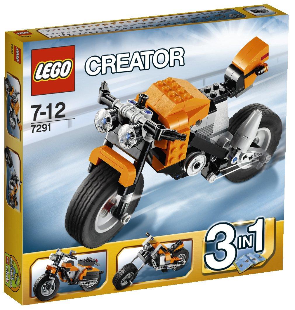 LEGO Creator - 7291 - Jeu de Construction - La Moto