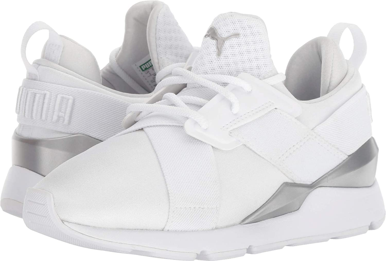 kids white puma shoes