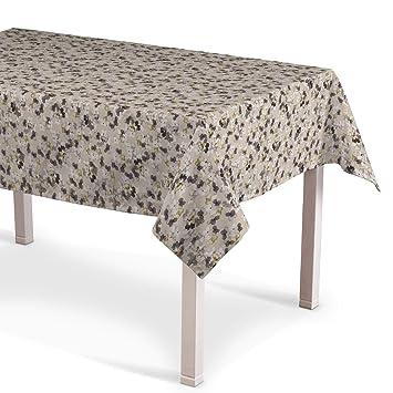 Dekoria Rechteckige Tischdecke 130 130 Cm Tischdekoration Grau