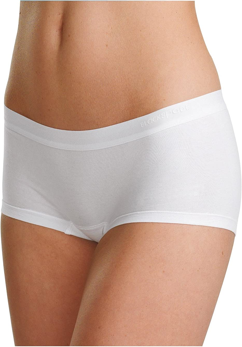 Womens Seamless Hipster Shorts Double Comfort Cotton Knicker Briefs 3 Colours
