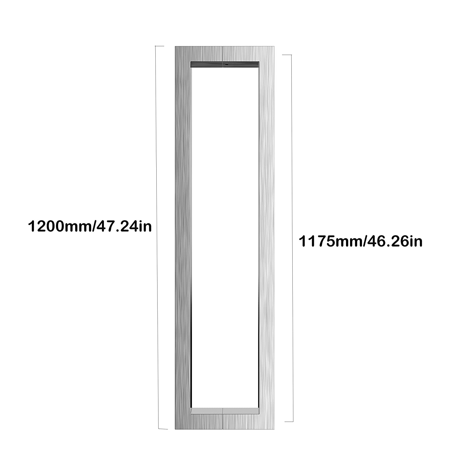 7//16 Length Small Parts Plain Finish #6-32 Threads Slotted Drive Pack of 10 Knurled Head 7//16 Length Stainless Steel Panel Screw