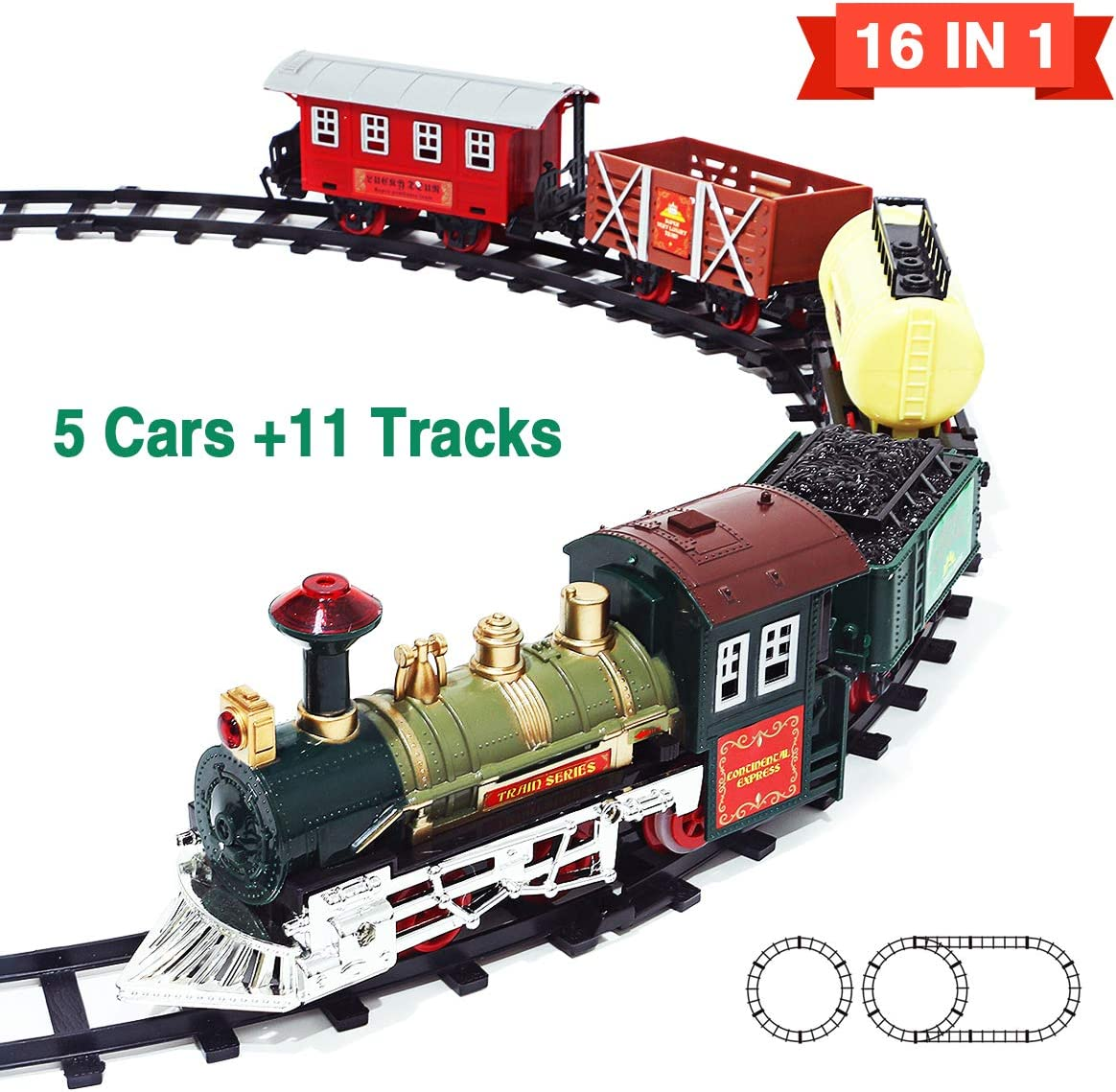 Amazon coupon code for New Eddition 16 in 1 Train Sets