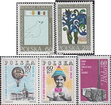Prophila Collection Polonia Michel.-No..: 1844-1845,1852-1853Paar, 1854 (Completa.edición.) 1968 Bienal, filatelia, revolución (Sellos para los coleccionistas): Amazon.es: Juguetes y juegos