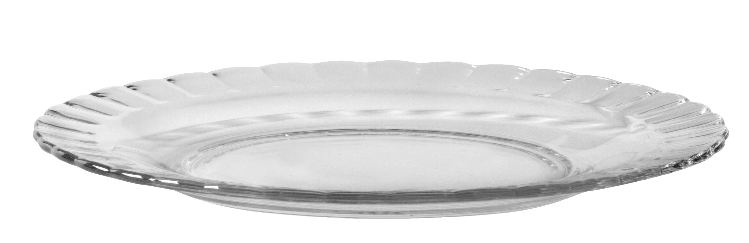 Duralex - Paris Clear Dessert Plate 20,5 cm 8 1/8'' s/6