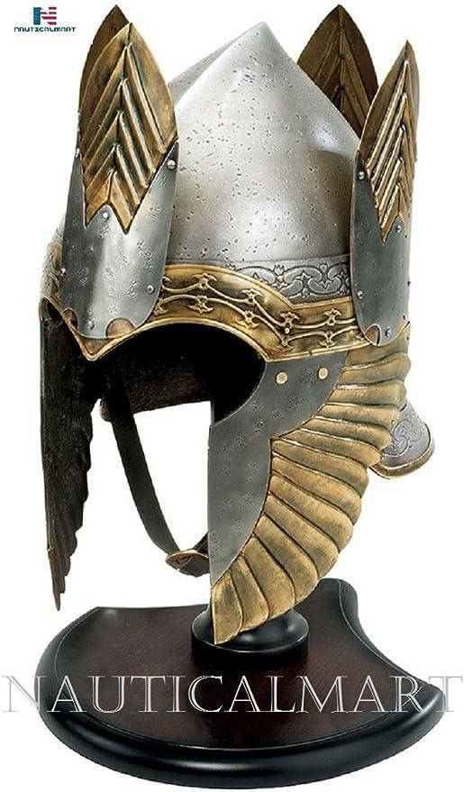Lord of the Rings Elendil Helmet Medieval Crusader Centurion Bird Helmet The Elite Knight Helmet Gift