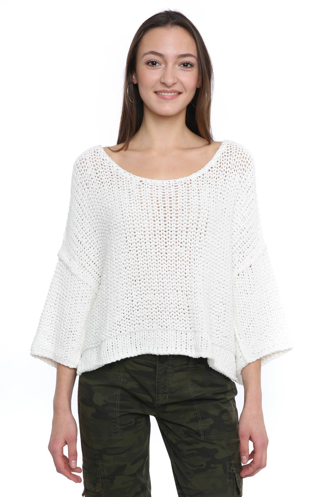 Free People Halo Pullover Sweater