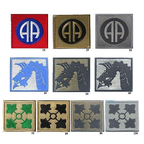 Apliques bordados accesorio de bricolaje 10 unids Dragon ...