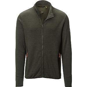 Stoic Full-Zip Fleece Jacket - Men's Olive, S