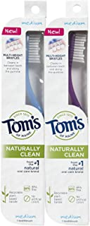 product image for Tom's of Maine Toothbrush, Medium - 2 pk