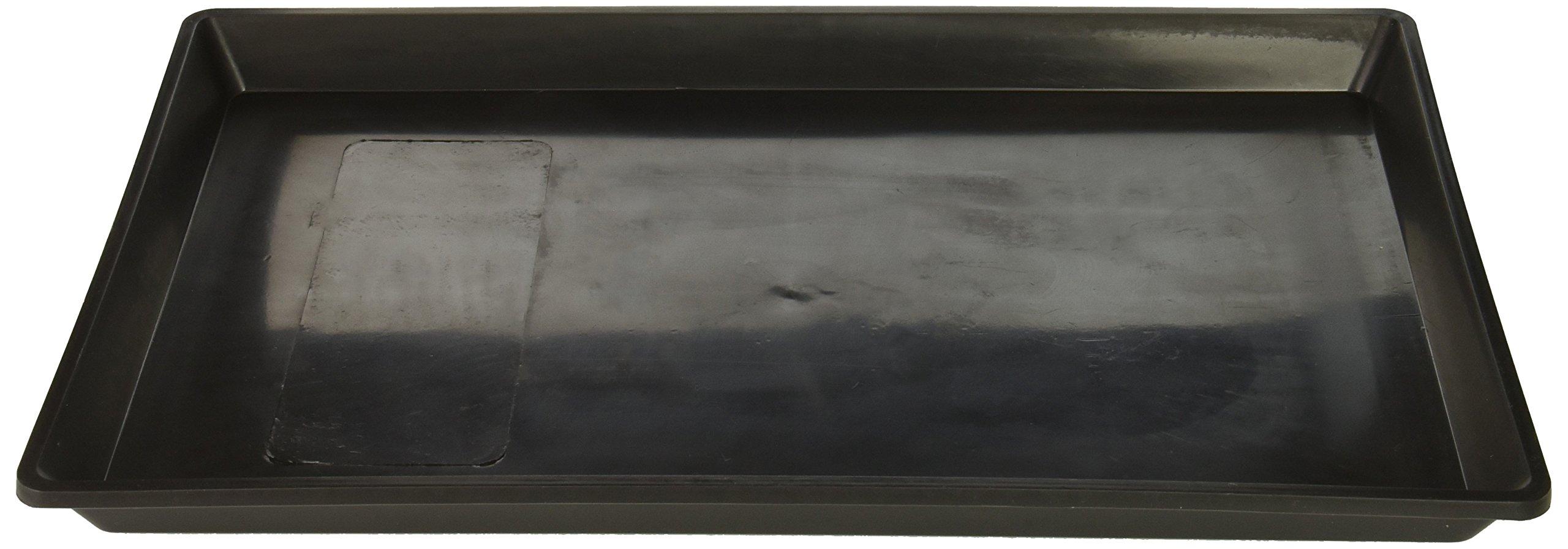 Pet Tek DPK86101 Dream Crate Professional Series 100 Replacement Dog Crate Pan, Black