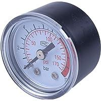 TOOGOO(R) 0-12BAR 0-170PSI Rosca 10mm Manometro del compresor