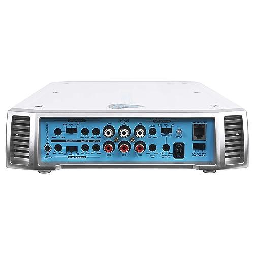 Rockville RXM-S6 Marine//Boat 6-Channel Amplifier 2600w Peak//1300w RMS+Amp Kit