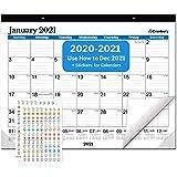 CRANBURY Large Deskpad Calendar 2021 22x17 - (Blue) Big Desk Pad or Wall Calendar, Use to December 2021, Blotter Desk…