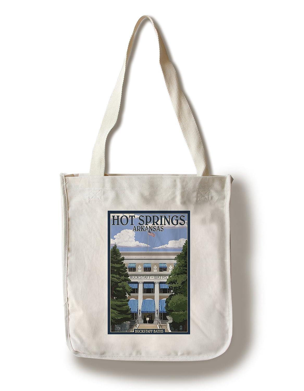 Hot Springs国立公園、アーカンソー州 – Buckstaff Bathhouse Canvas Tote Bag LANT-73532-TT B01CXYFSBQ  Canvas Tote Bag
