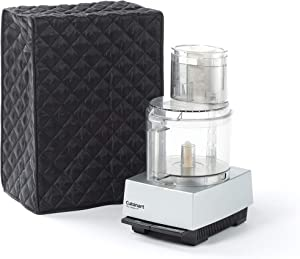 Covermates – Food Processor Cover – 12W x 8D x 17H – Diamond Collection – 2 YR Warranty – Year Around Protection - Black