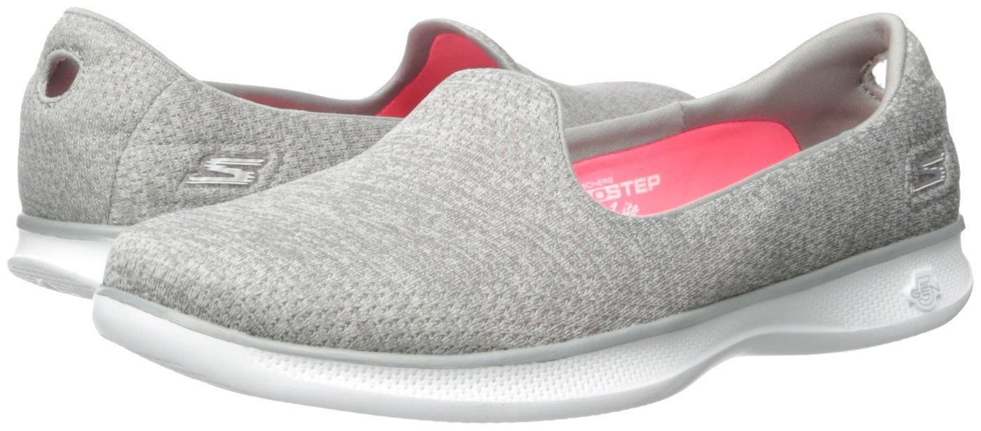 Skechers Performance Slip-on Women's Go Step Lite Slip-on Performance Walking Shoe B01LTAHGOW 7 B(M) US|Gray Heather 4295c8