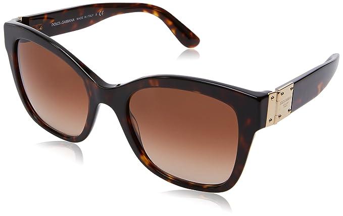 Dolce & Gabbana 0Dg4309, Gafas de Sol para Mujer, Marrón ...