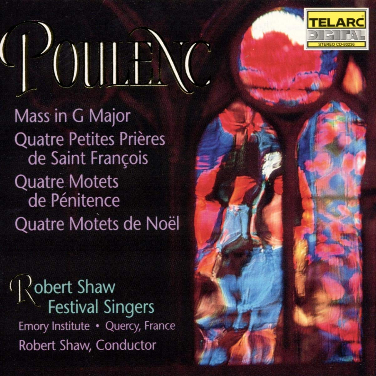 Free shipping / New Poulenc: Mass G Inexpensive in
