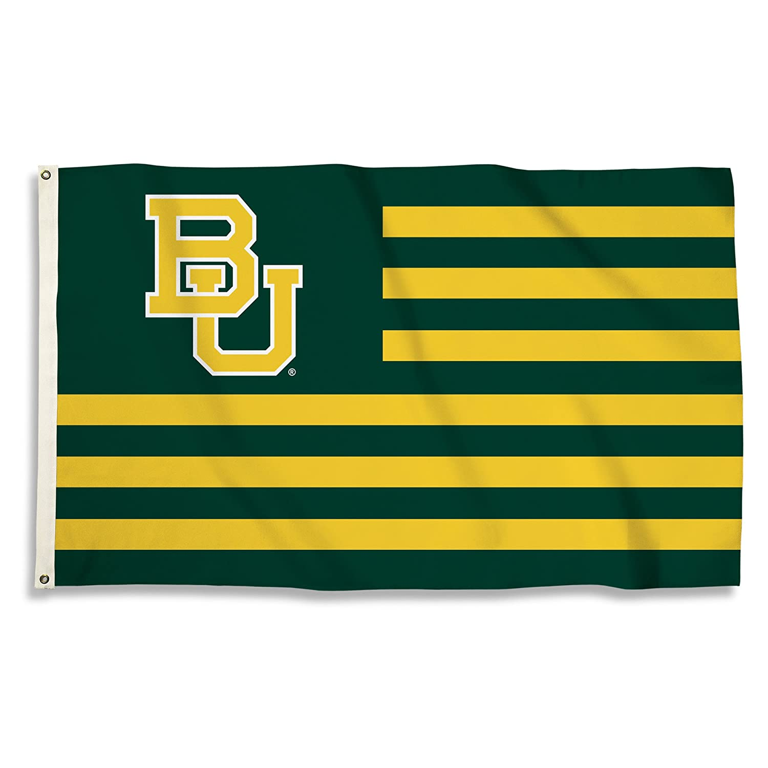 Green, NCAA Baylor Bears 3 X 5 Foot Flag with Grommets