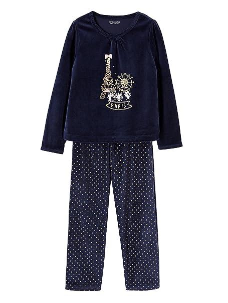 5ace8c977 VERTBAUDET Pijama de Terciopelo niña: Amazon.es: Ropa y accesorios