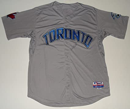 buy popular c52c3 0bf91 Mark Buehrle Autographed Jersey (Blue Jays) at Amazon's ...