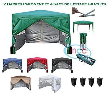 Mcc@home Gazébo/kioske/pavillon/ tente/tonnelle/auvent/abri de ...