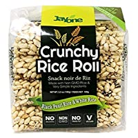 Deals on 6 Pack Jayone Crunchy Rice Rolls Black Pearl/White Rice 3.5Oz
