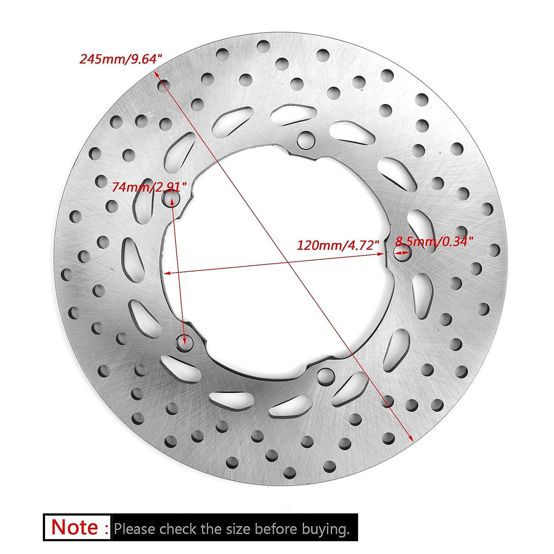 Artudatech Rear Brake Disc Rotor 245mm For Yamaha FZ6 FZ6R 2009-2017 XJ6 S XJ6F XJ6N 10-17