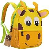 Mochila para niños, Animal Mochila Escolar TEAMEN® Toddler Kids Mochila Escolar para niños pequeños, Mochila para 2-5…
