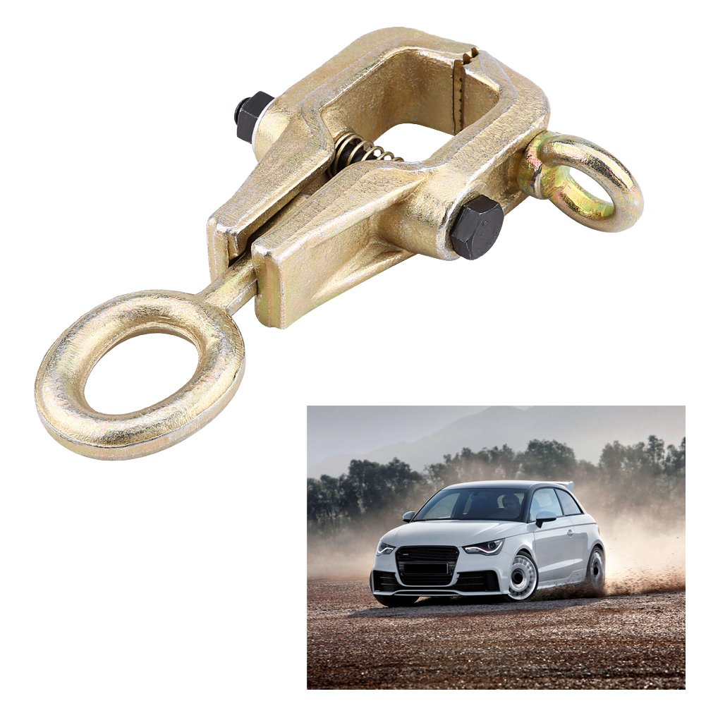 5 Ton Top and Straight 2-Way Frame Back Self-Tightening Frame Positive Tight Grips Lightweight Auto Body Repair Pull Clamp for Repairing Auto Body Confined Space Pull Clamp