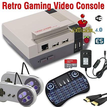 64GB Retropie Raspberry Pi 3 Model B+ Retro Games Video Console Complete  Build 50,000+ Games
