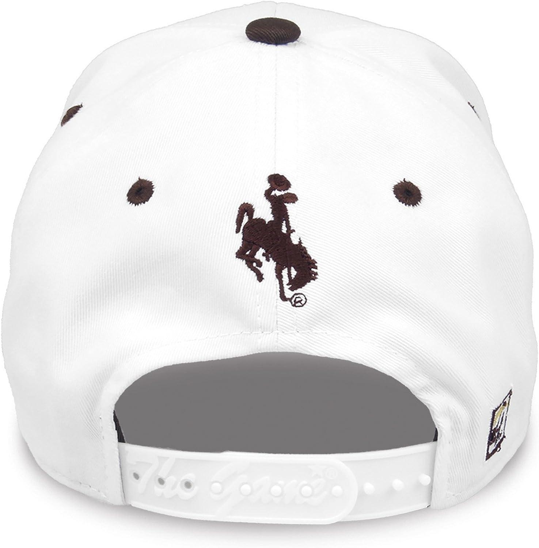 Adjustable White The Game NCAA Wyoming Cowboys Unisex NCAA bar Design Hat