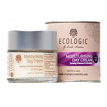 Ecologic by Linda Nicolau, Crema diurna facial (Onagra y Caléndula) - 50 ml.: Amazon.es: Belleza