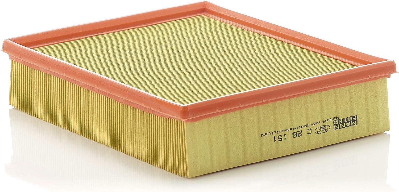 Original Mann Filter Luftfilter C 26 151 Für Pkw Auto