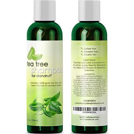Amazon Dandruff Shampoo And Conditioner With Tea Tree Oil