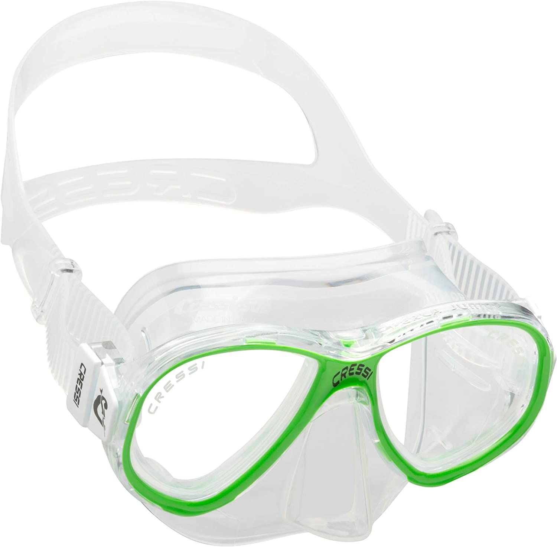Cressi Perla Jr Mask Máscara de Buceo Premium, Unisex niños