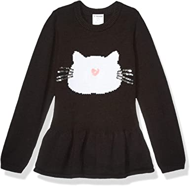 Brand Spotted Zebra Girls Peplum Sweaters