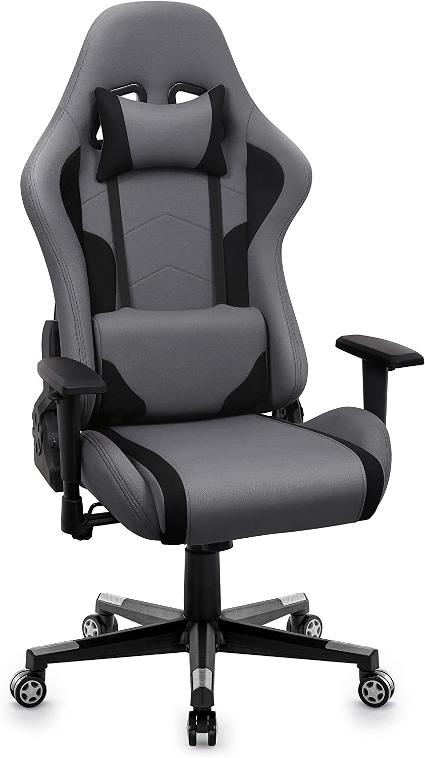 Intimate Wm Heart Gaming Chair Fabric Gaming Chair Breathable Racing Office Chair For Bedroom Ergonomic Swivel High Back Recliner Computer Desk Chair Amazon Co Uk Kitchen Home