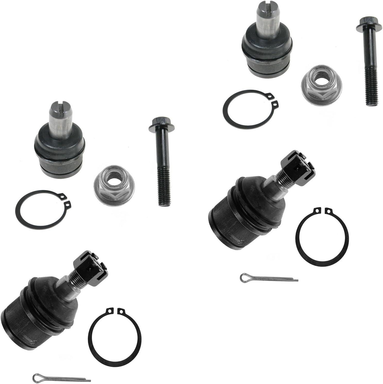 LIFETIME Upper /& Lower 4 Ball Joint Kit for Ford F250 F350 Super Duty 84-97