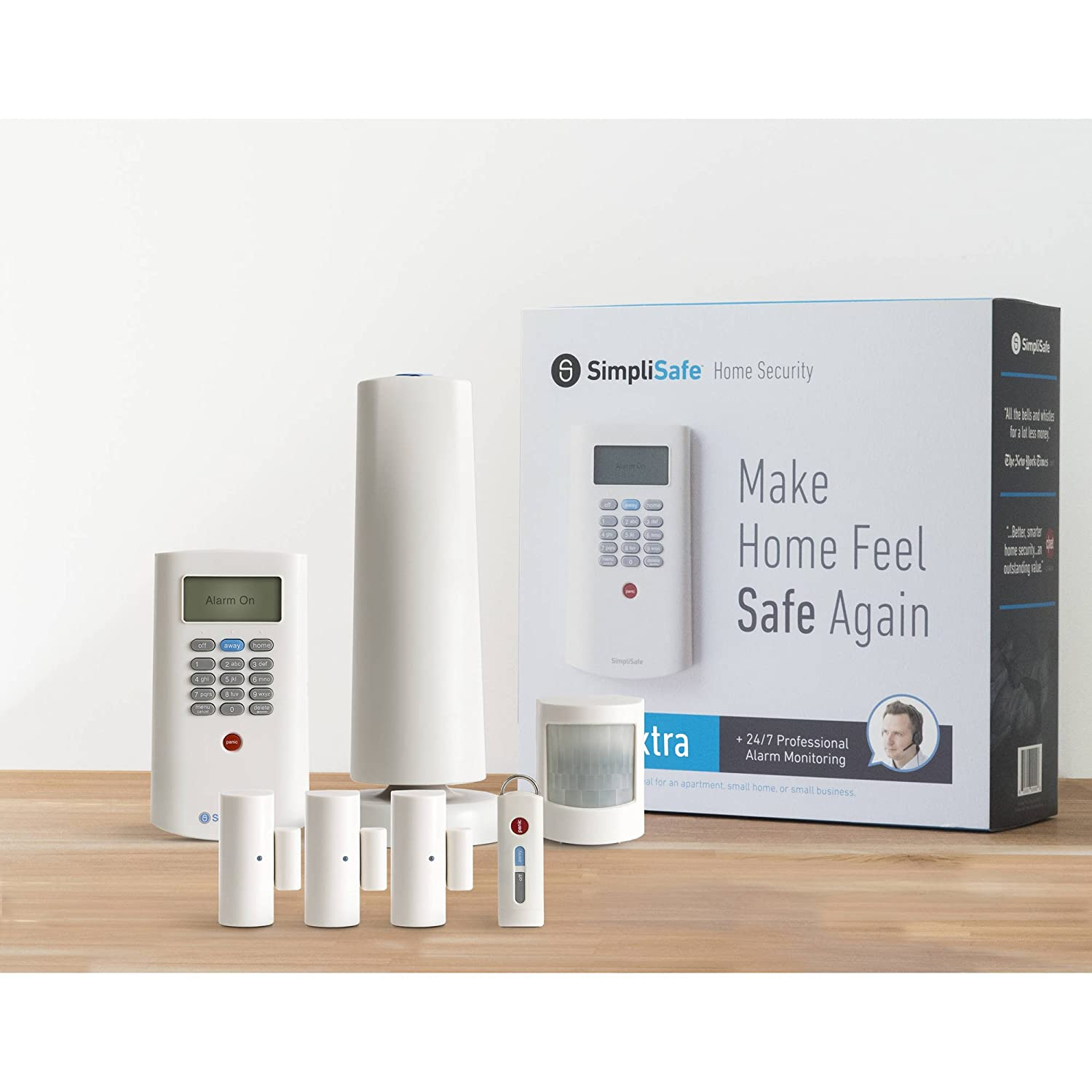 Amazon.com: simplisafe Kit de Home sistema de seguridad 7 ...