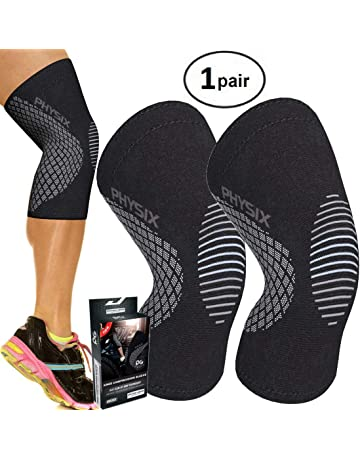 6d3d58424e Physix Gear Knee Support Brace - Premium Recovery & Compression Sleeve For  Meniscus Tear, ACL