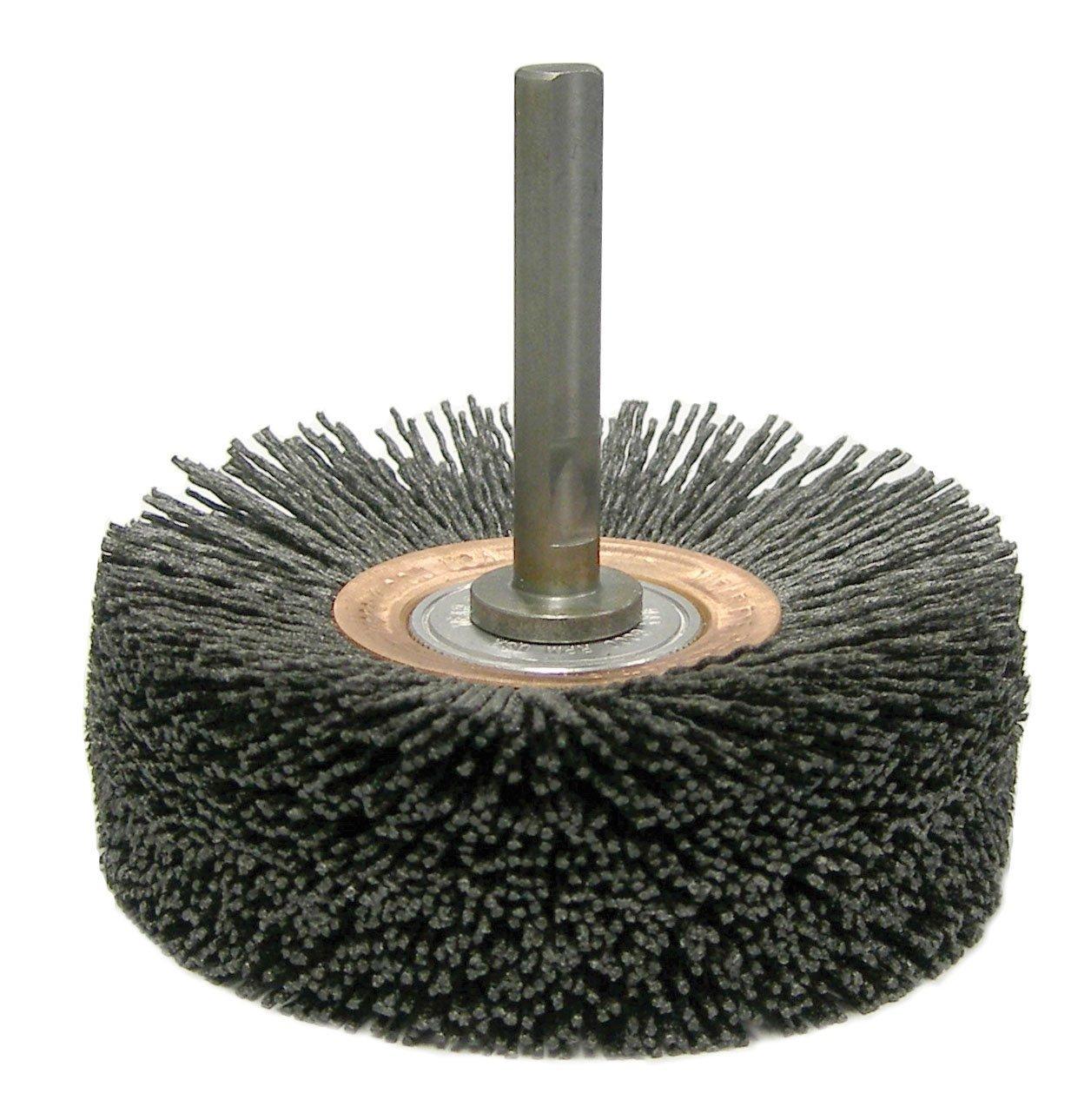 Brass Gordon Brush 91044 Single Spiral Brush with Ring Handle 5//8in Brush Diameter