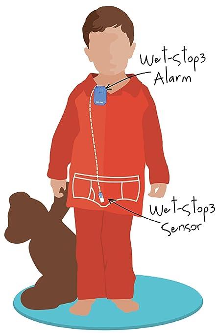 Wet-Stop 3 Bedwetting Alarm (Green) 6 Alarms & Vibration, Enuresis Alarm, Incontinence, Potty Training, 100% Satisfaction Guaranteed